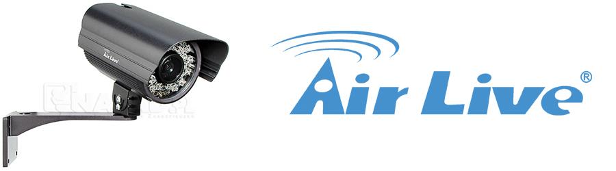 Bezpieczna posesja wokół firmy z kamerą monitoringową Air Live IP OD-325HD