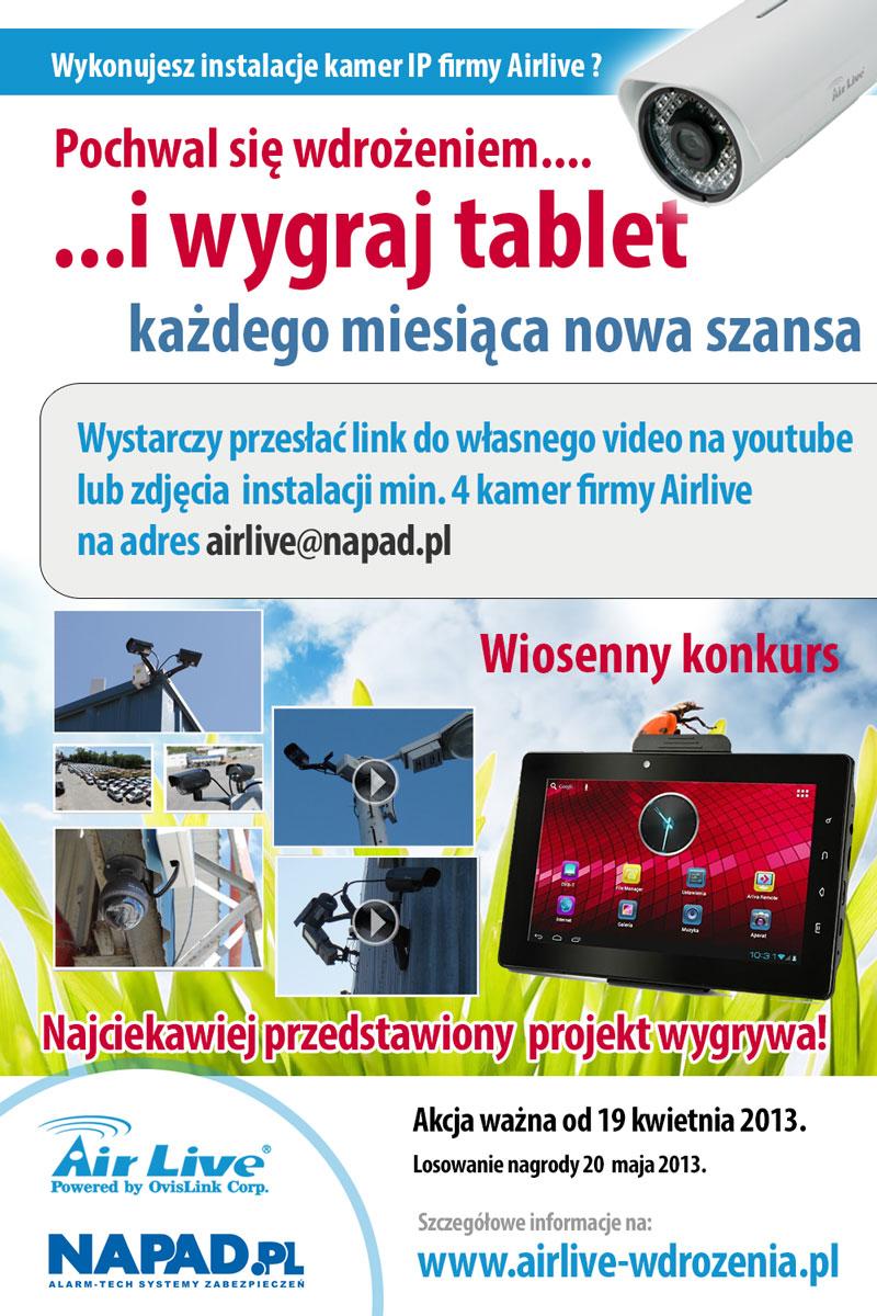 Konkurs AirLive oraz NAPAD.PL
